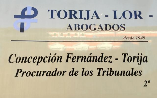 Concepción Fernández-Torija. Procurador.